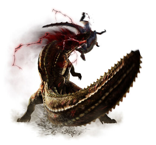 File:MH4-Savage Deviljho and Great Jaggi Render 001.jpg