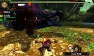 MH4U-Savage Deviljho and Tidal Najarala Screenshot 001