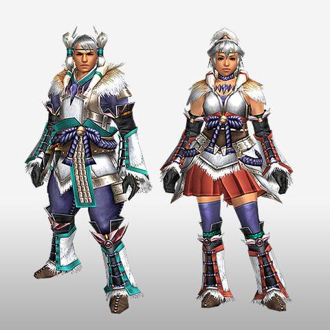 File:FrontierGen-Kagura Armor (Blademaster) (Front) Render.jpg