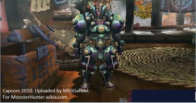 Steel Uragaan Armor with copyright