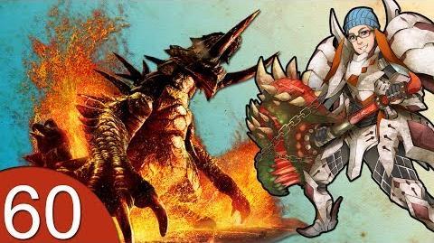 Monster Hunter 4 Nubcakes 60 - Akantor English commentary online gameplay