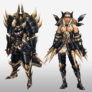 FrontierGen-Tinku Armor (Both) (Front) Render