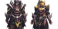 Zinogre Z Armor (Blademaster) (MH3U)