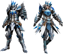 FrontierGen-Altera Armor (Blademaster) Render 2