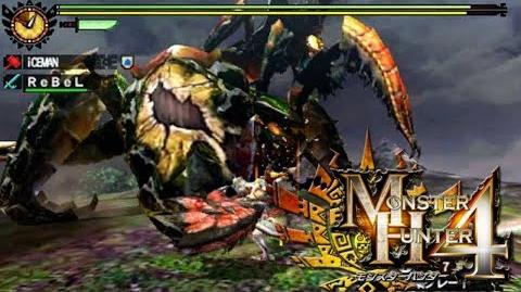 Monster Hunter 4 Nubcakes 22 - Generu Serutasu & Aruserutasu English commentary online gameplay