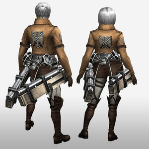 FrontierGen-Training Corps Armor (Both) (Back) Render