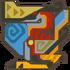 MH3U-Crimson Qurupeco Icon.png