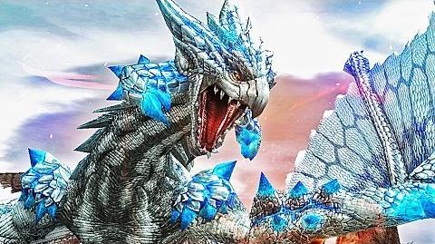 【MHF-G】烈種登場!輝界竜『ゼルレウス』 初見討伐【白リオレウス】フルHD