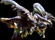 MHG-Azure Rathalos Render 001