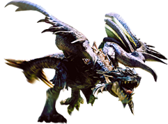 Image - MHG-Azure Rathalos Render 001.png | Monster Hunter ...