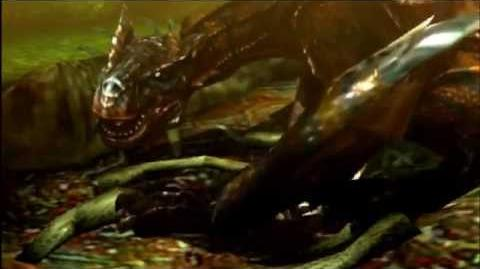 3DS Monster Hunter 4 Ultimate -Infected Tigrex Intro-