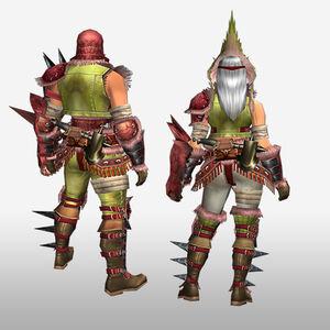 FrontierGen-Konga G Armor (Gunner) (Back) Render