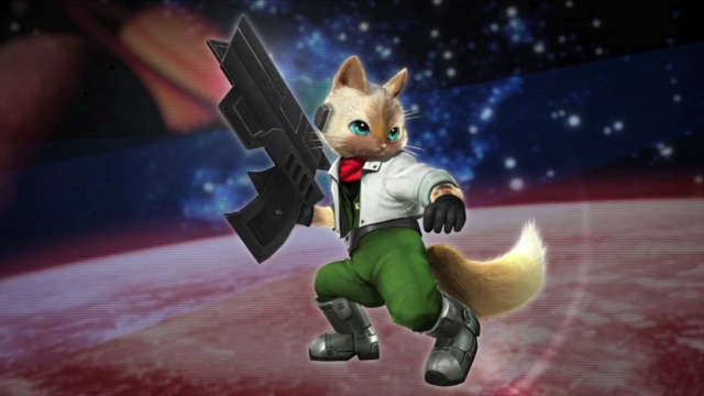 File:MHGen-Star Fox Palico Screenshot 001.png