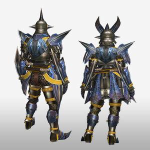 FrontierGen-Gizami G Armor (Blademaster) (Back) Render