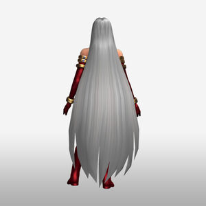 FrontierGen-Gorgon Armor 003 (Female) (Both) (Back) Render