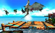 MH4U-Green Plesioth Screenshot 002