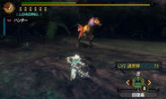 MH3U Great Wroggi vs hunter