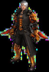 FrontierGen-Espinsu G Armor (Male) (Blademaster) Render 001