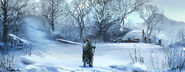 MHO-Yilufa Snowy Mountains Concept Art 001