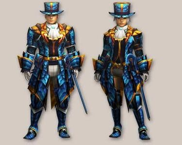 MH4-Blue Star Armor (Both) Render 001