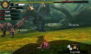 MH4U-Azure Rathalos and Pink Rathian Screenshot 003