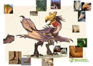 MHOL-沙雷鳥 Concept Artwork 005