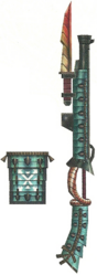 FrontierGen-Gunlance 022 Low Quality Render 001