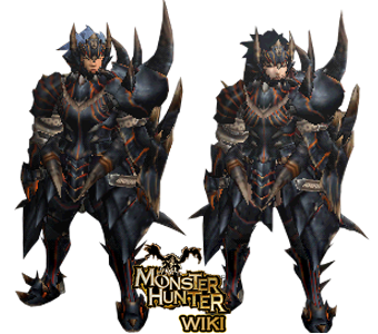 dark akantor armor gun monster hunter wiki fandom