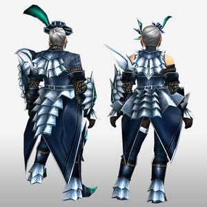 FrontierGen-Jebia G Armor (Gunner) (Back) Render