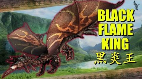 Monster Hunter Generations (X) The Dread King Rathalos 黒炎王リオレウス