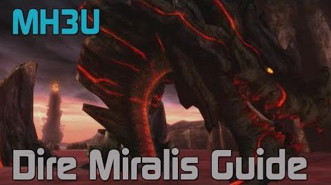 MH3U Monster Hunter 3 Ultimate - Dire Miralis Guide and Tutorial