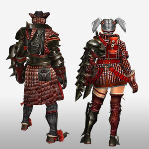 FrontierGen-Iosu G Armor (Gunner) (Back) Render