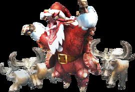 MHXR-Christmas Volvidon and Anteka Render 001