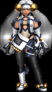 FrontierGen-Hiten Armor (Female) (Both) (Front) Render 001