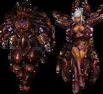 FrontierGen-Deyuru Armor (Both) Render 2