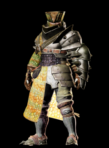 File:MHO-Gendrome Armor (Gunner) (Male) Render 001.png