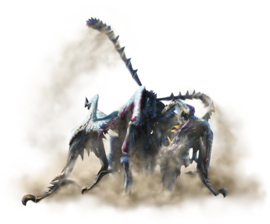 MH4U-Shrouded Nerscylla Render 001