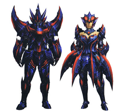 MH3U-Brachydios X Armor Render