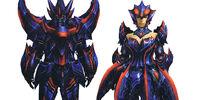 Brachydios X Armor (Blademaster) (MH3U)
