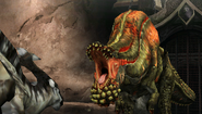 Deviljho is not amused