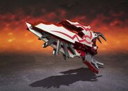 Chogokin-Monster Hunter G Class Henkei Rathalos 004