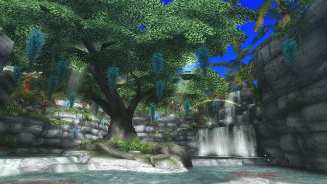 File:FrontierGen-Painted Waterfalls Screenshot 002.jpg