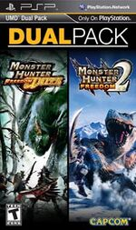 Game Cover-MHF2 and MHFU Dual Pack