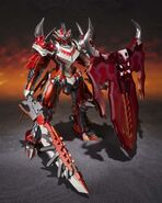 Chogokin-Monster Hunter G Class Henkei Rathalos 006