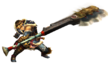 MHP3-Switch Axe Equipment Render 001