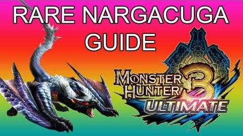 Monster Hunter 3 Ultimate - G3★ Rare Nargacuga guide ナルガクルガ希少種-0