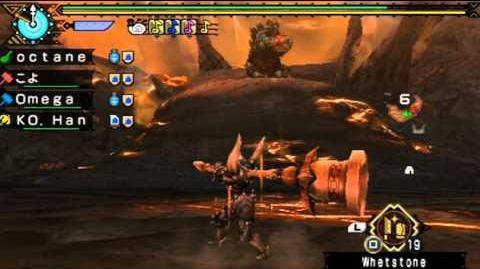 Monster Hunter Portable 3rd - 7★ Online Quest Uragaan & Steel Uragaan