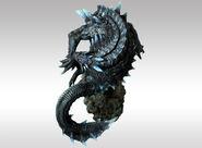 Capcom Figure Builder Creator's Model Abyssal Lagiacrus 004