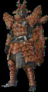 MHO-Sandstone Basarios Armor (Gunner) (Male) Render 001