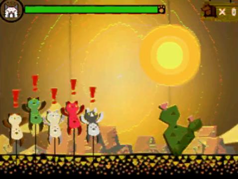File:MH4-Cactus Felyne Minigame Screenshot.png